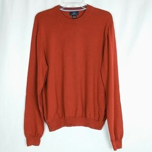 Brooks Brothers 346 Cashmere Blend Sweater Medium